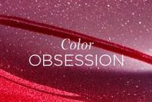 COLOR OBSESSION / Clarins cosmetics boast a wide range of textures and colours, from eye shadow and creamy foundations to pink cheeks and bold lips. / by Clarins