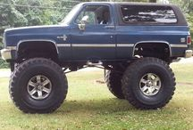 Lifted Chevys