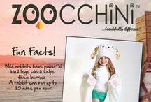 Zoocchini Fun Facts / Fun Facts about all of the Zoocchini Friends!