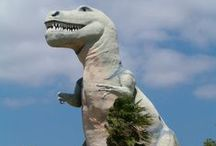 Cabazon, CA / Have a shopping itch to scratch? Take a quick trip down the mountain and check out the stores at Cabazon. Don't forget to take a quick photo op with the dinosaurs while you're there.