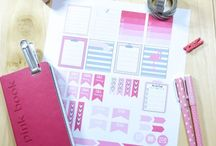 Calendar & Planners / Calendar stickers, planners, printables, organizing your schedule and how to organize your time.
