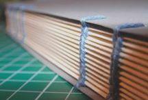 Handmade / Własnoręcznie robione zeszyty Handmade notebooks by Optymistyka