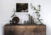 Modern Rustic / Rustic Charm & Modern Amenities combining natural materials & vintage finds from the shops at VINTAGE AD MAIN www.etsy.com/search?q=teamvam+rustic