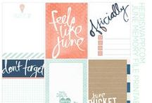 digis & printable: scrapbook & project life