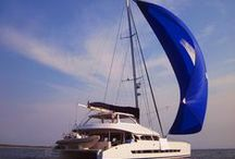Sailing Catamarans / Beautiful sailing catamarans, designed by Du Toit Yacht Design