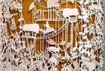 découpage / cutting art / by Yoko ma pensée