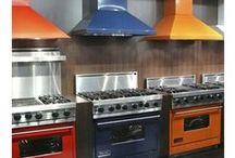 KITCHEN Ι bright colors Ι ΚΟΥΖΙΝΑ: έντονα χρώματα / Get inspired! Add color to your kitchen!