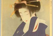 Bijin-ga Beauties 19-20th centuries
