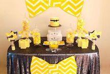 Sweet party / De jolies tables (à refaire)...
