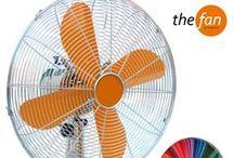 THE FAN by Cosmidis I Χρωματιστοί ανεμιστήρες / Μεταλλικοί Ανεμιστήρες Χρωματιστοί με επιλογή από 210 χρώματα!  Metal Fans in 210 colours