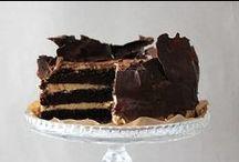 CIASTA CZEKOLADOWE / CHOCOLATE CAKES / by Ela Janiak