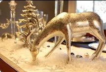 Christmas Table Decorations Ideas / www.tweet4gold.weebly.com