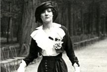 1910-1919 / Inspiration for an early 1910's outfit. Some later and some earlier as well.