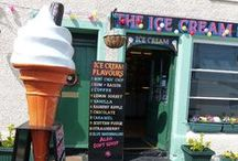 Ice Creams in Fife / Places to find ice cream for all those sunny days in Fife. No sun? Ice cream will help...