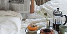 Breakfast in Bed / A collection of beautiful and want-to-try recipes to start the mornings off right