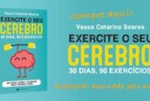 Exercite o seu Cérebro / Livro com conselhos de saúde cerebral e um programa de treino para melhorar as suas capacidades cognitivas da Atenção, memória, flexibilidade e rapidez mentais.
