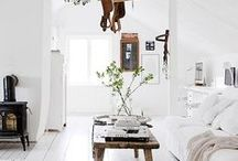 Styles: Scandinavian Interior Design / Wood Love / Sharing a love for bright, light colours and natural timber flooring.