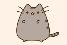 Pusheen / All the images are designed by Pusheen.com . I don't own anything.