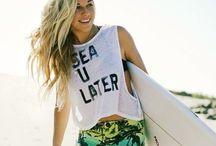 ☾Surf☽ / Life's a wave, catch it ~