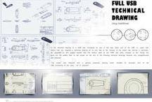 USB Technical Drawing