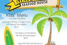 Restaurants on Tybee / near RECG / Tybee Locals Favorite Eateries