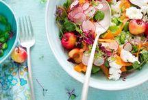 **Yum for salads** / C'est fou ce qu'on peut faire avec des salades