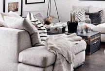 Kitchen & Living room.