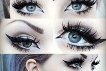 Make up/Face and Hair / Just cool make up, hair and face ideas