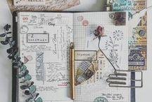 journal & simple scrapbooking