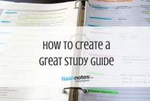 Note Taking / Effective note taking will only make studying easier, so it's important to hone this skill.
