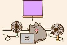 Pusheen / One of the cutest cats you will ever see!