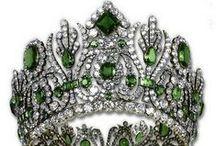 Crowns, Tiaras & Diadems / crowns, royal jewels, tiaras, diadems / by Cheri Griffith