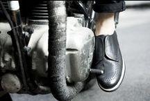 gram shoes MC sneaker / gram shoes motorcycle sneaker scandinavian design men's wear