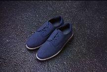 gram shoes the rain sneaker / gram shoes 380g navy soft-shell men's rain sneaker, scandinavian design hand made quality