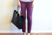 Ruhák - Lila nadrágok