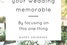 Wedding Tips / Sharing some great wedding ideas, tips and inspiration that we came across!