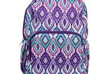 SCHOOL / Don't let the school bell ring without equipping your student with a Mary Square backpack in their favorite print.  Includes outer zippered pockets for easy organization, polyester canvas exterior, and side pockets to keep beverage bottles secure.  Add a monogram for a personalized touch.
