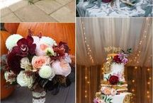 Fall Wedding Ideas / Fall wedding ideas and inspiration