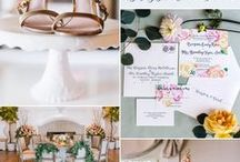 Spring Wedding Ideas / Spring wedding ideas and inspiration