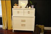 Refurbished Furniture / DIY | Home blogger, Astral Riles provides a compilation of refurbished furniture makeovers.  http://www.astralriles.com