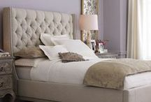 Jaw-Dropping Upholstered Headboards & Beds / DIY | Home blogger, Astral Riles provides a collection of her favorite upholstered headboards and beds.  http://www.astralriles.com