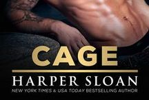 Cage / Book 2 in the Corps Security Series • Greg and Melissa's story