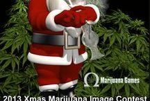 Christmas Marijuana Stuff