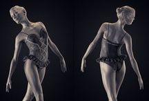 ANATOMIA - Zbrush Feminina