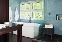 Bathroom Envy / DIY | Home blogger, Astral Riles provides a compilation of stunning bathrooms.  www.astralriles.com #ReDesign #ReInvent #ReLive