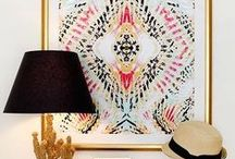 Crazy for Aztec! / DIY | Home blogger, Astral Riles shares her love for beautiful Aztec / Tribal prints & patterns in home decor accessories, wall art, area rugs, throw pillows, bedding, curtains, etc.  www.astralriles.com #ReDesign #ReInvent #ReLive