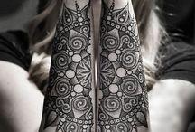 Tattoos I dream of / Mandala forearm tattoos