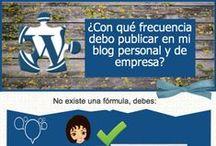 Blog / Como hacer, mantener y analizar un blog. ¿Eres blogger?
