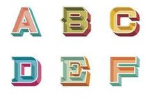 Tipografía & diseño / Letra aquí, dibujo hayá...diseñalo, diseñalo!!