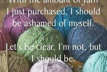 STITCHING quotes & humor / Sewing, crochet, & knitting pictures, quotes, and humor.